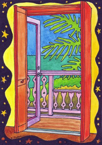 The painted door essay